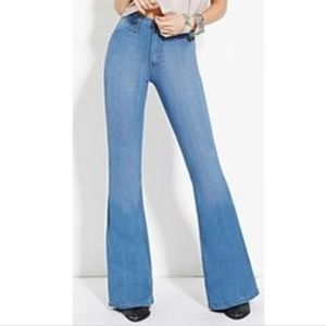 🍁High waisted flare jeans